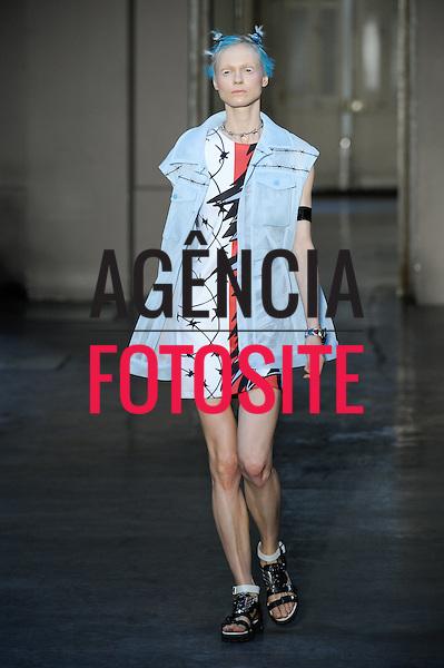 Paris, Fran&ccedil;a &sbquo;09/2014 - Desfile de Ground Zero durante a Semana de moda de Paris  -  Verao 2015. <br /> <br /> Foto: FOTOSITE
