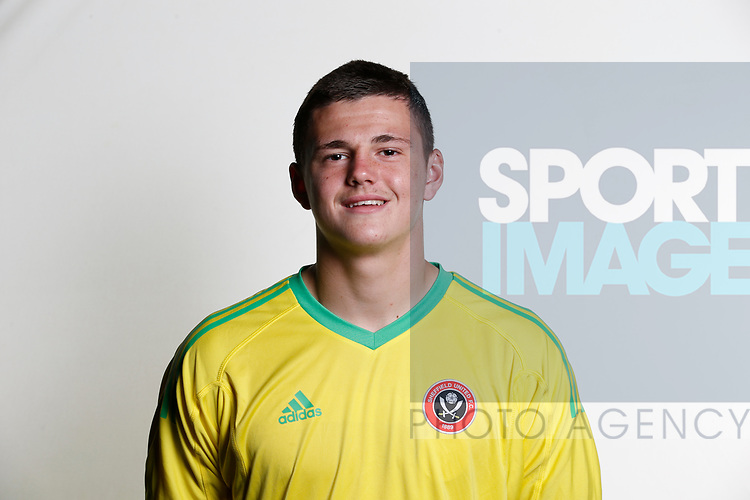 Hugo Warhurst academy photocall at the Steelphalt Academy, Sheffield. Picture date 22nd August 2017. Picture credit should read: Simon Bellis/Sportimage