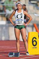 Ashante Horsley before 400 meter prelims during West Preliminary Track and Field Championships, Friday, May 29, 2015 in Austin, Tex. (Mo Khursheed/TFV Media via AP Images)