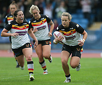 Picture by Paul Currie/SWpix.com - 07/10/2017 - Rugby League - Women's Super League Grand Final - Bradford Bulls v Featherstone Rovers - Regional Arena, Manchester, England - Lois Forsell of Bradford Bulls scores the 2nd try
