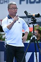 Coach Ki Bo Bae Korea Gold Medal Recurve Women Arco Olimpico <br /> Roma 03-09-2017 Stadio dei Marmi <br /> Roma 2017 Hyundai Archery World Cup Final <br /> Finale Coppa del mondo tiro con l'arco <br /> Foto Andrea Staccioli Insidefoto/Fitarco