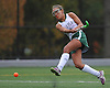 Carle Place No. 2 Sophia Urrutia scores the game's first goal on a shot midway through the first half of the Nassau County varsity field hockey Class C final against Oyster Bay at Adelphi University on Sunday, November 1, 2015. She tallied two goals in Carle Place's 5-0 win.<br /> <br /> James Escher