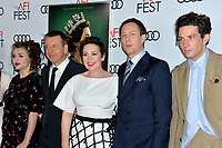 """LOS ANGELES, USA. November 17, 2019: Helena Bonham Carter , Peter Morgan, Olivia Colman, Tobias Menzies & Josh O'Connor  at the gala screening for """"The Crown"""" as part of the AFI Fest 2019 at the TCL Chinese Theatre.<br /> Picture: Paul Smith/Featureflash"""