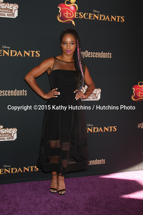 "LOS ANGELES - JUL 24:  Monique Coleman at the ""Descendants"" Premiere Screening at the Walt Disney Studios on July 24, 2015 in Burbank, CA"