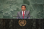 DSG meeting<br /> <br /> AM Plenary General DebateHis<br /> <br /> <br /> His Excellency Danny Faure, President, Republic of Seychelles