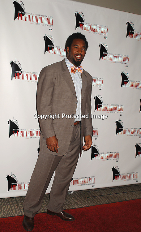 Dhani Jones..arriving at The Britannia Ball on board The Queen Mary 2 ..to benefit the New York City Opera and the Brooklyn Academy of Music sponsored by CIT on May 24, 2007 ...RobinPlatzer, Twin Images......212-935-0770