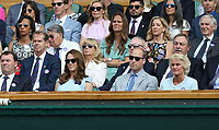 Catherine, Duchess of Cambridge and Prince William, Duke of Cambridge attend the Royal Box<br /> <br /> Photographer Rob Newell/CameraSport<br /> <br /> Wimbledon Lawn Tennis Championships - Day 13 - Sunday 14th July 2019 -  All England Lawn Tennis and Croquet Club - Wimbledon - London - England<br /> <br /> World Copyright © 2019 CameraSport. All rights reserved. 43 Linden Ave. Countesthorpe. Leicester. England. LE8 5PG - Tel: +44 (0) 116 277 4147 - admin@camerasport.com - www.camerasport.com