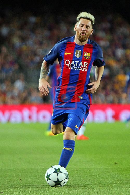 UEFA Champions League 2016/2017 - Matchday 1.<br /> FC Barcelona vs Celtic FC: 7-0.<br /> Lionel Messi.