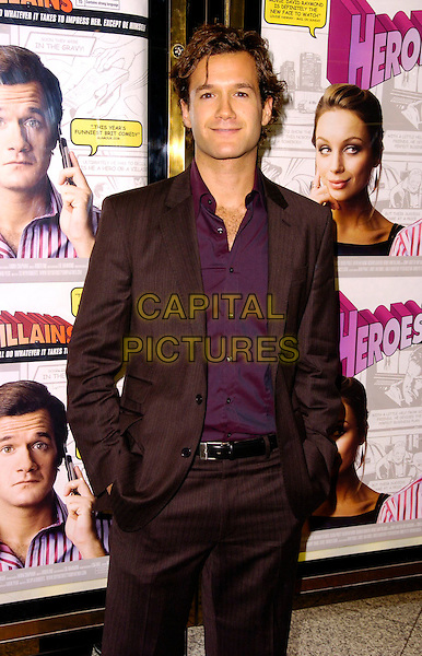 "DAVID RAYMOND.The ""Heroes & Villains"" UK premiere, Empire cinema, London, UK..November 13th, 2006.Ref: CAN.half length brown suit jacket.www.capitalpictures.com.sales@capitalpictures.com.©Can Nguyen/Capital Pictures"