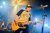 Jupiter Jones  bei einem Konzert in der  Meier Music Hall in Braunschweig am 21.November 2014. Foto: Rüdiger Knuth