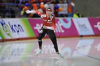 SCHAATSEN: Calgary: Essent ISU World Sprint Speedskating Championships, 28-01-2012, 500m Heren, Bram Smallenbroek (AUT), ©foto Martin de Jong
