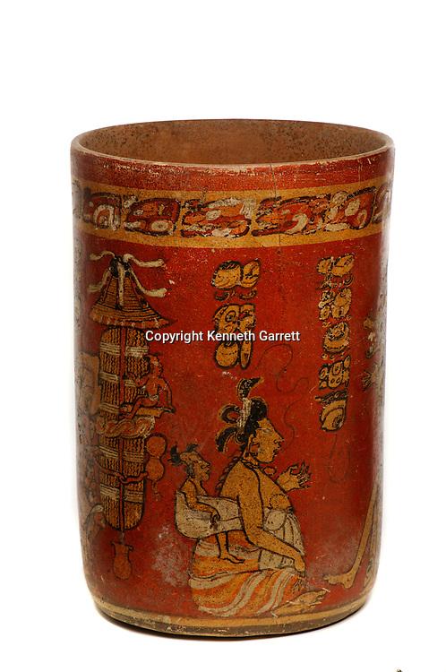 Maya rise and Fall, Princeton Museum, Princeton Vase