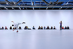 Work / Travail/ Arbeid<br /> <br /> MUSIQUE Gérard Grisey <br /> D'après Vortex Temporum<br /> CONCEPTION Anne Teresa De Keersmaeker <br /> Collaboration artistique Ann Veronica Janssens <br /> Commissaire d'exposition Elena Filipovic <br /> Dramaturgie Bojana Cvejić <br /> Ensemble Ictus<br /> COMPAGNIE Rosas<br /> DATE 26/02/2016<br /> LIEU Centre Pompidou<br /> VILLE Paris<br /> <br /> Coréalisation Opéra national de Paris, Centre Pompidou<br /> Coproduction Rosas, Wiels (Bruxelles)