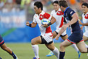 Katsuyuki Sakai (JPN),<br /> AUGUST 9, 2016 - / Rugby Sevens : <br /> Men's Pool Round <br /> between Great Britain 21-19 Japan <br /> at Deodoro Stadium <br /> during the Rio 2016 Olympic Games in Rio de Janeiro, Brazil. <br /> (Photo by Yusuke Nakanishi/AFLO SPORT)