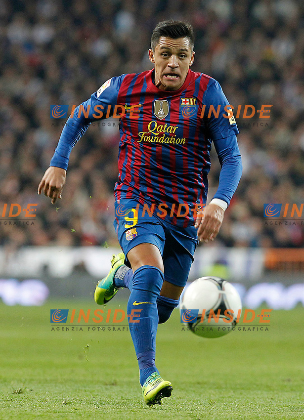 FC Barcelona's Alexis Sanchez during Spanish King's Cup match.January 18,2011. (Insidefoto / Acero / Alterphotos) .Real Madrid Vs Barcellona.ITALY ONLY