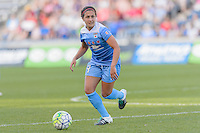 Bridgeview, IL, USA - Sunday, May 29, 2016: Chicago Red Stars midfielder Danielle Colaprico (24) during a regular season National Women's Soccer League match between the Chicago Red Stars and Sky Blue FC at Toyota Park. The game ended in a 1-1 tie.