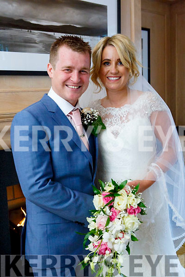 Siobhan O'Flynn and Alan Lenihan were married at st joseph the worker church mallow on Saturday 14th October 2017 by Fr. Aidan Crowley with a reception at Ballygarry House Hotel