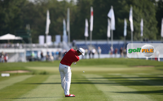 Bernd Wiesberger (AUT) playing second shot to the 11th during Round Two of the 2015 BMW International Open at Golfclub Munchen Eichenried, Eichenried, Munich, Germany. 26/06/2015. Picture David Lloyd | www.golffile.ie