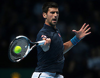Novak Djokovic (SRB)(2) in action against Andy Murray (GBR)(1)during Day Eight of the Barclays ATP World Tour Finals 2015 played at The O2 Arena, London on November 20th  2016<br /> <br /> <br /> <br /> <br /> <br /> <br /> <br /> <br /> <br /> <br /> <br /> <br /> <br /> <br /> <br /> <br /> <br /> <br /> <br /> <br /> <br /> <br /> <br /> <br /> <br /> <br /> <br /> <br /> <br /> <br /> <br /> <br /> <br /> <br /> <br /> <br /> <br /> <br /> <br /> <br /> <br /> <br /> <br /> <br /> <br /> <br /> <br /> <br /> <br /> <br /> <br /> <br /> <br /> <br /> <br /> <br /> <br /> <br /> <br /> <br /> <br /> <br /> <br /> <br /> <br /> <br /> <br /> <br /> <br /> <br /> <br /> <br /> <br /> <br /> <br /> <br /> <br /> <br /> <br /> <br /> <br /> <br /> <br /> <br /> <br /> <br /> <br /> <br /> <br /> <br /> <br /> <br /> <br /> <br /> <br /> <br /> <br /> <br /> <br /> <br /> <br /> <br /> <br /> <br /> <br /> <br /> <br /> <br /> <br /> <br /> <br /> <br /> <br /> <br /> <br /> <br /> <br /> <br /> <br /> <br /> <br /> <br /> <br /> <br /> <br /> <br /> <br /> <br /> <br /> <br /> <br /> <br /> <br /> <br /> <br /> <br /> <br /> <br /> <br /> <br /> <br /> <br /> <br /> <br /> <br /> <br /> <br /> <br /> <br /> <br /> <br /> <br /> <br /> <br /> <br /> <br /> <br /> <br /> <br /> <br /> <br /> <br /> <br /> <br /> <br /> <br /> <br /> <br /> <br /> <br /> <br /> <br /> <br /> <br /> <br /> <br /> <br /> <br /> <br /> <br /> <br /> <br /> <br /> <br /> <br /> <br /> <br /> <br /> <br /> <br /> <br /> <br /> <br /> <br /> <br /> <br /> <br /> <br /> <br /> <br /> <br /> <br /> <br /> <br /> <br /> <br /> <br /> <br /> <br /> <br /> <br /> <br /> <br /> <br /> <br /> <br /> <br /> <br /> <br /> <br /> <br /> <br /> <br /> <br /> <br /> <br /> <br /> <br /> <br /> <br /> <br /> <br /> <br /> <br /> <br /> <br /> <br /> <br /> <br /> <br /> <br /> <br /> <br /> Andy Murray  (GBR)(1) and Coach van Lendl  warming prior to the Final during Day Eight of the Barclays ATP World Tour Finals 2015 played at The O2 Arena, London on November 20th  2016