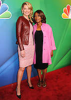 NEW YORK CITY, NY, USA - MAY 12: Katherine Heigl, Alfre Woodard at the 2014 NBC Upfront Presentation held at the Jacob K. Javits Convention Center on May 12, 2014 in New York City, New York, United States. (Photo by Celebrity Monitor)