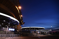The external view of the Stadium. Inter fans are disqualified for racist shouts  . Inter fans are disqualified for racist shouts againt Napoli player Kalidou Koulibaly <br /> Milano 13-1-2019 Stadio Giuseppe Meazza <br /> Football Italy Cup 2018/2019 Inter - Benevento <br /> Foto Image Sport  / Insidefoto
