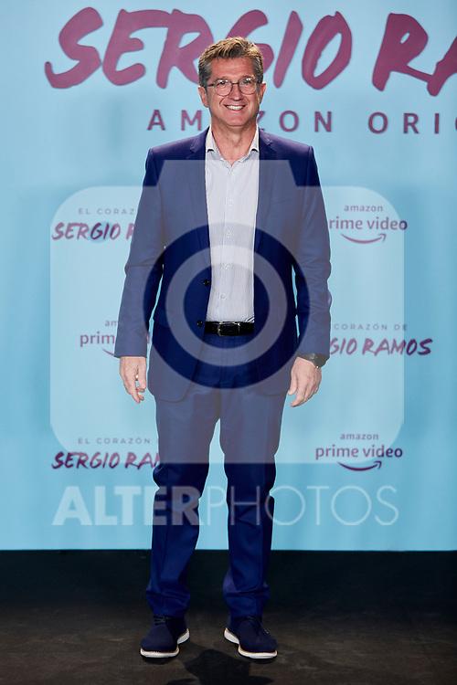 """Miguel Porlan Noguera attends to """"El Corazon De Sergio Ramos"""" premiere at Reina Sofia Museum in Madrid, Spain. September 10, 2019. (ALTERPHOTOS/A. Perez Meca)"""