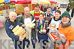 Pictured at the food 4 thought event at IT Tralee on Wednesday were from left: Maya Beaujouan, The Little Cheese Shop Dingle, Rplf Jongbloed, Rolf's fine food, Henery Hagerty, Wokabout, Helen O'Farrell, Ballyhaura Apple Juice, Marie Charland, Creme de la Creme, Ildiko Bajzat, Wellness Bakery Listowel and Carlos Luque, Carlos Food Fiesta.