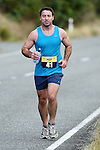 NELSON, NEW ZEALAND - MARCH 14: Kaiteriteri Gold Half Marathon & 10km on March 14, 2015. Kaiteriteri, Nelson, New Zealand. (Photo by: Chris Symes Shuttersport NZ)