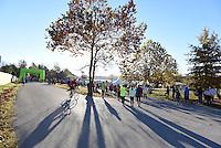 NWA Democrat-Gazette/J.T. WAMPLER  Image from the Fayetteville Half Marathon at Lake Fayetteville Sunday Nov. 8, 2015.