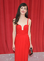 Hedydd Dylan at the British Soap Awards 2018, Hackney Town Hall, Mare Street, London, England, UK, on Saturday 02 June 2018.<br /> CAP/CAN<br /> &copy;CAN/Capital Pictures