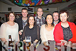 Gearing up for New Years Eve at The Ferth Bar, Cahersiveen were l-r; Caroline Clifford, Alan Clifford, Fiona Casey, Eamon Casey, Sinéad Hainesworth, Ronan Hainsworth & Susan Keane