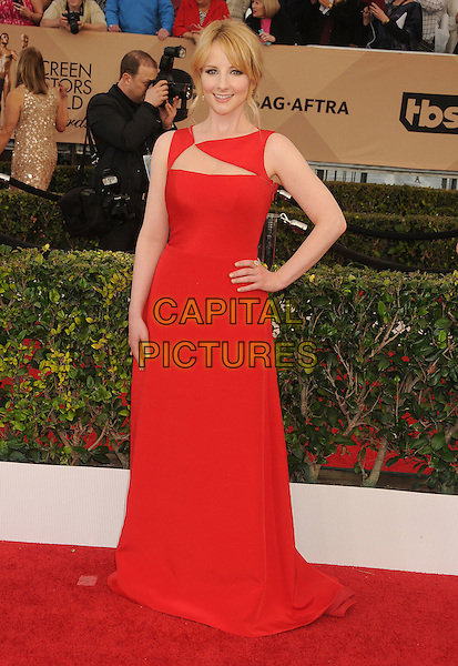 30 January 2016 - Los Angeles, California - Melissa Rauch. 22nd Annual Screen Actors Guild Awards held at The Shrine Auditorium.      <br /> CAP/ADM/BP<br /> &copy;BP/ADM/Capital Pictures