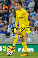 Claudio Bravo of Manchester City (1)  during the EPL - Premier League match between Brighton and Hove Albion and Manchester City at the American Express Community Stadium, Brighton and Hove, England on 12 August 2017. Photo by Edward Thomas / PRiME Media Images.