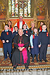 Listowel Confirmation: Pupils from Nano Nagle School, Listowel  who were confirmed in St. Mary's Church by Bishop Bill Murphy on Monday last.