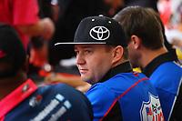 Oct 28, 2016; Las Vegas, NV, USA; NHRA top fuel driver Richie Crampton during qualifying for the Toyota Nationals at The Strip at Las Vegas Motor Speedway. Mandatory Credit: Mark J. Rebilas-USA TODAY Sports