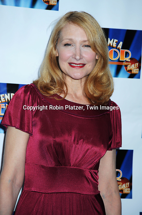 """actress Patricia Clarkson attending the Broadway Opening Night of  """"Lend Me A Tenor"""" on April 4, 2010 at The Music Box Theatre in New York City."""