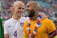 Saturday, June 7, 2014: The USMNT vs Nigeria in a pre World Cup send off match at Everbank Field.