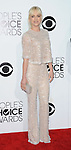 Anna Faris arriving at the People's Choice Awards 2014, held at Nokia Theatre L.A. Live, January 8, 2014.