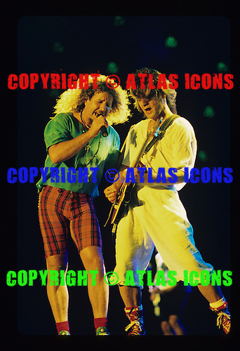 Eddie Van Halen Van Halen Live 1995.New York City.Photo Credit: Eddie Malluk/AtlasIcons.com