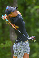 Danielle Kang (USA) watches her tee shot on 11 during round 2 of the U.S. Women's Open Championship, Shoal Creek Country Club, at Birmingham, Alabama, USA. 6/1/2018.<br /> Picture: Golffile | Ken Murray<br /> <br /> All photo usage must carry mandatory copyright credit (&copy; Golffile | Ken Murray)