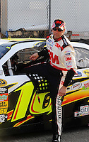 Feb 20, 2009; Fontana, CA, USA; NASCAR Sprint Cup Series driver Greg Biffle during qualifying for the Auto Club 500 at Auto Club Speedway. Mandatory Credit: Mark J. Rebilas-