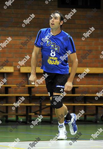 2010-08-26 / Volleybal / seizoen 2010-2011 / VC Vosselaar / Tom Mentens..Foto: Mpics
