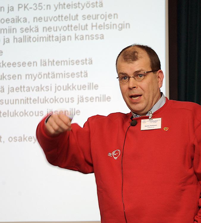 Is&auml;nn&auml;n &auml;&auml;ni -seminaari<br />Viking Mariella, 11.-12.2.2007