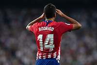 Rodrigo Hernandez of Atletico Madrid during the match between Real Madrid v Atletico Madrid of LaLiga, date 7, 2018-2019 season. Santiago Bernabéu Stadium. Madrid, Spain - 29 SEP 2018.