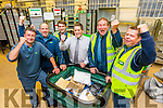 Tralee Post Office, Delivery Service Unit, who were over all winners of the Regional Champions League in the West of Ireland, pictured l-r: Paul Greensmith, John White, Rory Waters, Danny Roche (Acting DSM), Pat Sheehy and Vincent O'Sullivan.