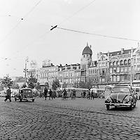 1957. Astridplein in Antwerpen.
