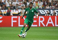 Salman Al-Faraj (Saudi-Arabien) - 08.06.2018: Deutschland vs. Saudi-Arabien, Freundschaftsspiel, BayArena Leverkusen