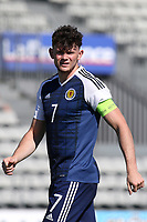 Oliver Burke of Scotland during England Under-18 vs Scotland Under-20, Toulon Tournament Semi-Final Football at Stade Parsemain on 8th June 2017