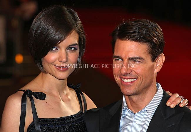 "Katie Holmes and Tom Cruise at the premiere of ""Valkyrie"" in London - 21 January 2009..FAMOUS PICTURES AND FEATURES AGENCY 13 HARWOOD ROAD LONDON SW6 4QP UNITED KINGDOM tel +44 (0) 20 7731 9333 fax +44 (0) 20 7731 9330 e-mail info@famous.uk.com www.famous.uk.com.FAM25045"