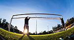 Uppsala 2014-06-26 Fotboll Superettan IK Sirius - IFK V&auml;rnamo :  <br /> Personal p&aring; Studenternas IP tar av m&aring;ln&auml;tet efter matchen fr&aring;n ett av m&aring;len <br /> (Foto: Kenta J&ouml;nsson) Nyckelord:  Superettan Sirius IKS Studenternas IFK V&auml;rnamo genre m&aring;l m&aring;ln&auml;t n&auml;t m&aring;lbur